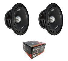 """2 x 10"""" Midrange Loudspeaker 1400W 4 Ohm Pro Car Audio Mids Genius GPRO-M1710"""