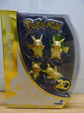 Pokemon 025 Pikachu 20th Anniversary 4 Figure Pack 051418DBT