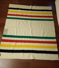 Vintage Eaton Trapper 4 Point Indian Trade Blanket England Hudson Bay Style