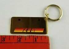 Vintage 1970s Chevy CAMARO Hot Rod Brass Keychain Keyring FACTORY SEALED NOS IOP