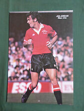 JOE JORDAN - MANCHESTER UNITED  - 1 PAGE PICTURE - CLIPPING /CUTTING