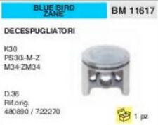 480890 722270 PISTONE DECESPUGLIATORE BLUE BIRD ZANE K30 PS30 M34 ZM34 Ø 36 mm