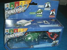 THUNDERBIRDS ARE GO! Die-Cast Multipack Thunderbirds 1, 2 & 3 Scott Tracy Vivid