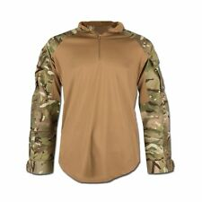 Britisches Combat Shirt Hot Weather Hemd Armeehemd Militär MTP tarn neuwertig