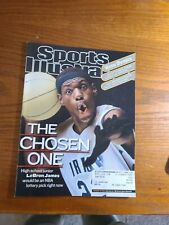 sports illustrated feb 18 2002 lebron james 1st cover