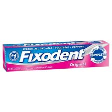 1 X Fixodent Complete Original Denture Adhesive Cream 2.4 Oz.