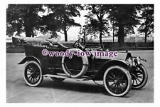 pu1394 - Early Motor Car at Racecourse , Doncaster - photograph