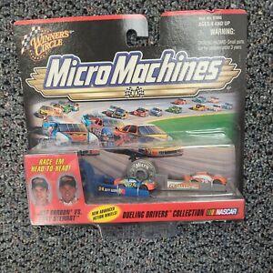 #20 TONY STEWART #24 JEFF GORDON  MICRO MACHINES DUEL 1999 WINNERS CIRCLE 1/144