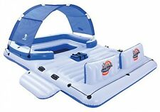 CoolerZ Inflatable Floating Island Party Lounge River Lake Ocean Raft Float New