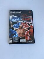 WWE SmackDown vs Raw 2007 PS2 PlayStation 2 COMPLETE CIB