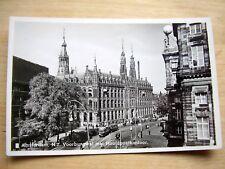 OLD REAL PHOTO-PC: AMSTERDAM~N.Z. VOORBURGWAL + HOOFDPOSTKANTOOR~ANIMATED + TRAM
