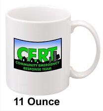 CERT Community Emergency Response Team Mug. 11oz. Nice gift for C.E.R.T. Members