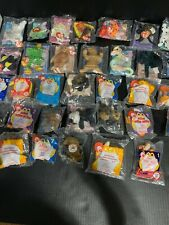 Lot of 33 Ty Beanie Babies and other McDonalds Happy Meal Toys