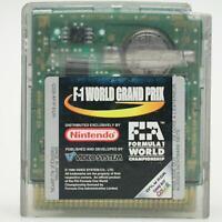 F-1 World Grand Prix | Nintendo Game Boy Spiel | GameBoy Color Modul | Gut