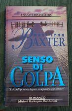 SENSO DI COLPA  di MARY LYNN BAXTER  - HARLEQUIN MONDADORI -  1998