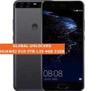"HUAWEI P10 Vtr-l29 Grafite Nera 4gb 32gb 5.1"" Android 4g Dual Sim Smartphone"
