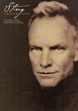 STING SACRED LOVE Sheet Music Book Piano Vocal Guitar PVG Songbook Shop Soiled