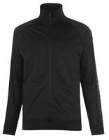 FIRETRAP Track Jacket Mens Black Medium *REF165