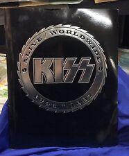 "1996-1997 ""KISS"" ALIVE/WORLDWIDE TOUR PROGRAM GENE PAUL ACE CHRIS NM"