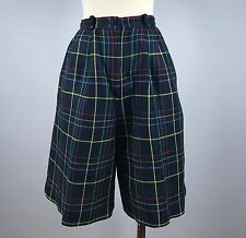 Vintage Talbots Womens High Waisted Plaid Shorts Tagged Size 8 See Measurements