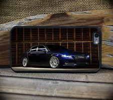 Blue Audi A4 iPhone 6 6S + Custom Case