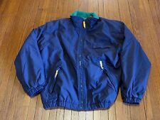 Men's VTG 90's GAP MTN Alpine Country Ski Navy Blue Windbreaker Jacket S