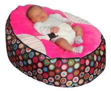 Rainbow Pink Baby Bean Bag with Filling-UK Seller