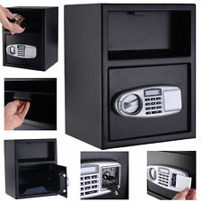 Digital Safe Box Depository Drop Deposit Front Load GUN Money Vault Lock Office