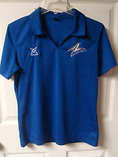UNC-Asheville Bulldogs Basketball Poly Pullover Polo Shirt Size Ladies Large