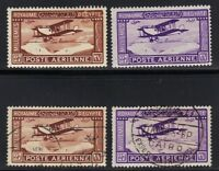 EGYPT 1926 FIRST AIR MAILS MINT & USED HINGED S.G. 132-3