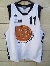 Maillot basket porté ERAGNY n°11 Adidas worn shirt Clima 365 L
