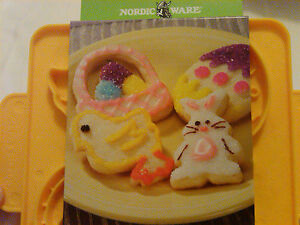 Nordicware Spring Celebrations 8-in-1 Reversable Cookie Cutter-Spring and Easter