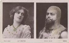 POSTCARD  ACTRESSES  LILY  BRAYTON & OSCAR ASCHE