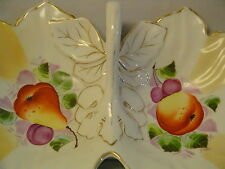 Joseph Fauchier Marseilles,Doublesided Dish, France Hd Paint,1800 Antique,fruit