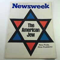 VTG Newsweek Magazine March 1 1971 - The American Jew / Newsstand