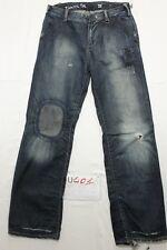 Zuelements panta trivial (Cod. U401) Tg43  W29 L32 jeans usato vintage
