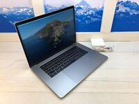"Apple MacBook Pro Touch Bar 2018 15"" Laptop 512GB 16GB RAM Space Gray AppleCare+"