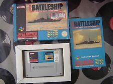 SNES Super Battleship (with box & manual) PAL