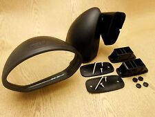 Universal Bullet Black Fender Door Mirrors RH/LH Sports Japanese British Custom