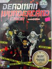 DVD Deadman Wonderland ( Chapter 1-12 End ) English SUB + Free Shipping