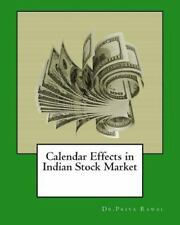 Calendar Effects in Indian Stock Market by Priya Rawal (2015, Paperback,...