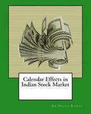 Calendar Effects in Indian Stock Market by Priya Rawal (2015, Paperback,...