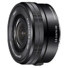 USED Sony E PZ 16-50mm f/3.5-5.6 OSS SELP1650 Black Excellent FREESHIPPING