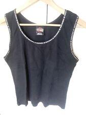 HARLEY DAVIDSON Womens XL Tank Top Shirt, Hall's - Chico CA