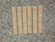 "6 Rod Building Wrapping 6"" long rear grips cork handles Tennessee rods"