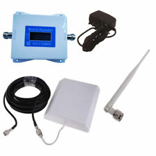 Dual Band GSM WCDMA 900/2100mhz Cell Phone Signal Booster 3G Repeater Amplifier