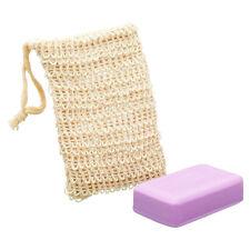 Hd_ Shower Exfoliator Soap Saver Foaming Bag Sponge Pouch Net Bubble Blister Mes
