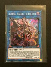 Yugioh: Zerrzial, Ruler of the Evil Eyed INCH-EN031 - Secret Rare