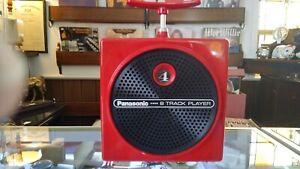Vintage 1970s Panasonic RQ-830S Dynamite 8 Track Player