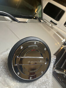 Genuine GM Hummer H3 Chrome Gas Door